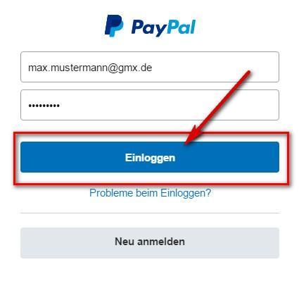 Paypal Abmelden