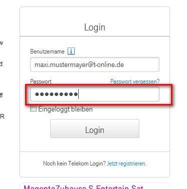 E Mail Center Login Telekom